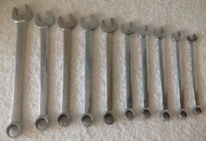Snap on Tools Metric 12pt Oexm Combination Wrench Set 10mm 21mm Usa