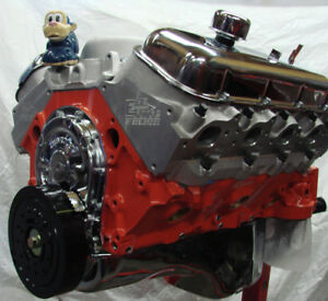 396 400hp Chevy Chevelle Camaro High Perf Bb Crate Engine Edelbrock Alum Heads