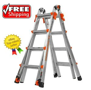 Little Giant Velocity Model 17 Multi use Ladder Type 1a Free Shipping