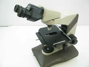 Used nikon Labophot 2 Microscope With 1 Objective 10 25 A21
