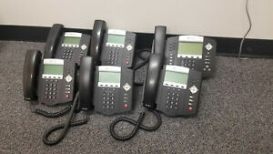 Lot Of Polycom Soundpoint 5x Ip450 1x Ip650