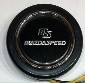 Horn Button For Momo Steering Wheels Compatible With Mazda Mazdaspeed Miata Rx7