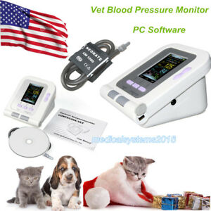 Fda Vet Veterinary Oled Digital Blood Pressure Monitor dog cats Use pc Software