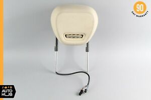 09 12 Mercedes R230 Sl550 Sl63 Amg Left Side Headrest Airscarf System Beige Oem