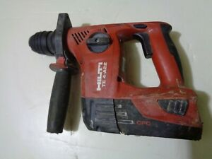 Hilti Te4 a22 Cpc 21 6 volt Cordless Rotary Drill With 5 2 Battery