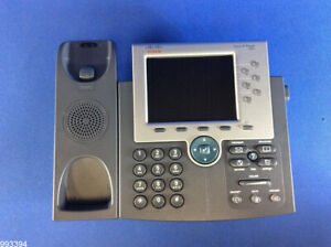 Cisco Uc Phone 7965g Gig Ethernet Color Cp 7965g 993394