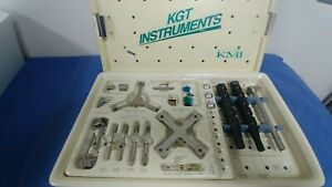 Kgt Instruments Kinetikos Surgery Medical Podiatry Set