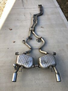 2007 2013 Bmw E92 E93 335i 2door Oem Factory Complete Exhaust System