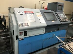 1995 Mazak Qt 20 Cnc Lathe Mazatrol T plus 10 Chuck 20hp 5k Rpm Quick Turn 20