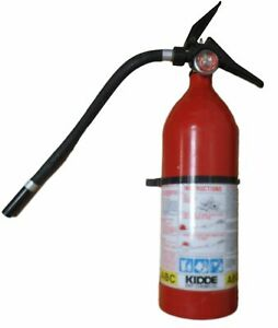 Kidde 466143 Home office Red Fire Extinguisher With Hose Fa340hd