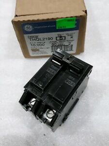 Thql2190 General Electric 2pole 90amp 240v Circuit Breaker New