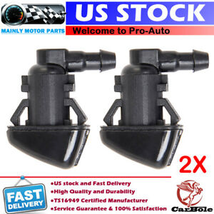 Windshield Washer Jet Nozzle Squirters For Ford F250 F550 Super Duty 2008 2010