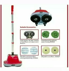 Floor Scrubber Buffer Polisher Machine Tile Hardwood Cement Floors Cleaner Home