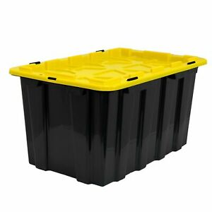 Work it Heavy duty Plastic Storage Bins Set Of 3