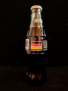 1994 World Cup Soccer Germany 8oz Coca Cola Bottle