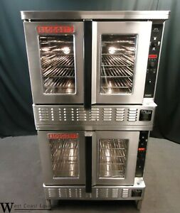 Blodgett Dfg 200 Commercial Gas Digital Double Convection Oven Bakery Depth