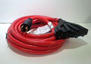 Powermate Generator Cord 4 Outlets