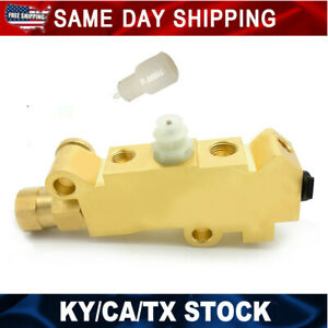For Gm Chevy Disc drum Brake Proportioning Valve Pv2 With Bleeder Tool