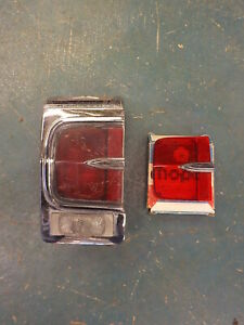 1965 65 Dodge Coronet 500 Taillight Ds Lh Tail Light Nos Lens Drivers Left