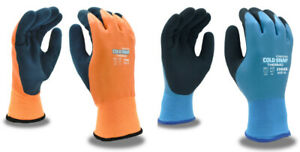 Cordova 3988 Cold Snap Thermo Latex Coated Insulated Gloves 3 Pack m 2xl