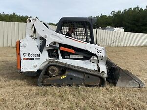 2014 Bobcat T590 Skid Steer Compact Track Loader Crawler Aux Hyd Rubber Tracks
