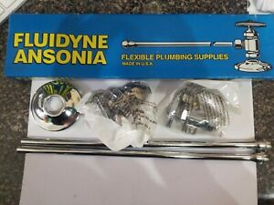 Fluidyne Ansonia Flexible Plumbing Supplies A1002 Pc Sup Lav 1 2 Fipx3 8odx12