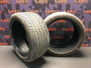 Cooper Zeon Rs3 g1 Used Tires Pair Two 275 35 18 275 35 18 9 32