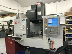 2011 Haas Mini Mill 2 Vmc 24atc Ha5c 4th Axis Indexer W Tailstock Chip Auger