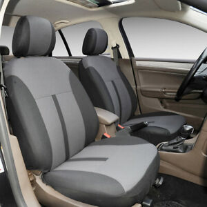 Fabric Front Seat Covers 161 Gray For Toyota Corolla 2003 2019
