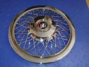 15 Custom Chrome Wire Spoke Hubcaps Wheelcovers For Buick New Set Of 4