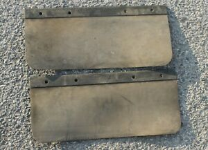 1941 42 46 1948 1949 1950 52 1953 54 1956 Dodge Military Nos Mud Flaps Wwii br