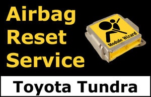 Toyota Tundra Airbag Module Reset Service Control Unit Computer Srs Rcm