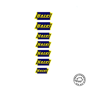Porsche Hazet Decal Set For Tools 64470102100