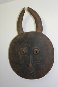 Baule Goli Tribal 1800s Mask African Tribal Ivory Coast Wood Cultural Museum