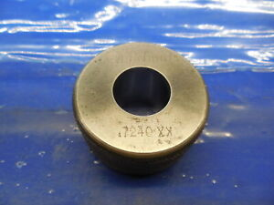 7240 Class Xx Master Plain Bore Ring Gage 7188 0052 Oversize 23 32 18 390mm