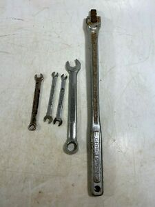 Craftsman 1 2 Breaker Bar Wrenches 5 8 2 5 16 X 1 4 11 32 Lot Of 5