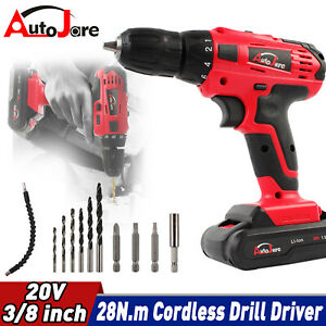 20v Sds Cordless Rotary Hammer Drill Brushless Demolition Electric Jackhammer