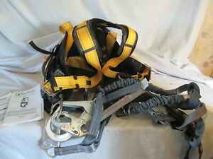Falltech Full Body Safety Harness With Shock Absorbing Lanyards See Description
