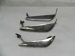 1965 1966 Ford Mustang Vintage Original Used Bumper Guard Wholesale Lot Of Three