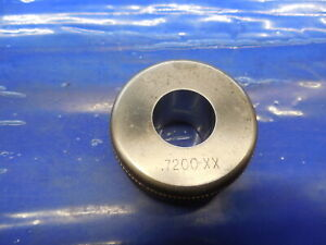 7200 Class Xx Master Plain Bore Ring Gage 7188 0012 Oversize 23 32 18 288mm