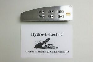 1964 1965 1966 Chrysler Imperial Power Window Switch Rebuilt By Hydro Nice