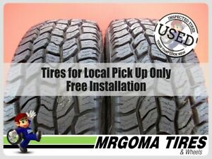 2 New 255 70 16 Cooper Discoverer A t3 Tires 111t At3 255 70r16 2557016