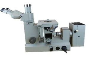Carl Zeiss Jena Metaval Metallurgical Inverted Microscope