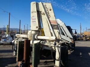 National Crane Model N70 H21 Serial 18468 Max 12 000 Pounds