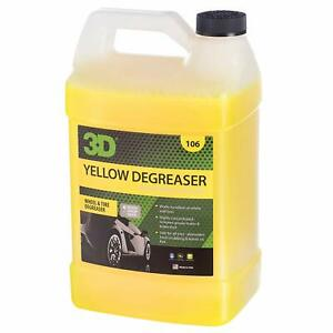 New Yellow Degreaser Wheel Tire Cleaner 1 Gallon Free Shipping