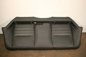 2017 2019 Alfa Romeo Giulia Rear Lower Seat Bottom Leather Black Oem 7530870