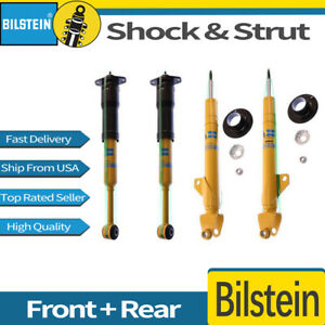 Front Rear 4x Bilstein Pairs B6 Shock Absorber Strut For Dodge Challenger 2010