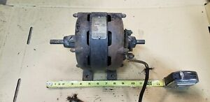 Old Vintage General Electric A C Motor 1 4 Horse 110 Volts Works