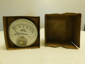 Wheelabrator Ac Amperes 0 30 Amp Gauge 331 pl New Old Stock With Box
