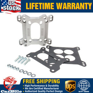Carburetor Intake Adapter Plate 1933 Carb Adapter Kit 2 Barrel 4 Barrel 4 Bolt